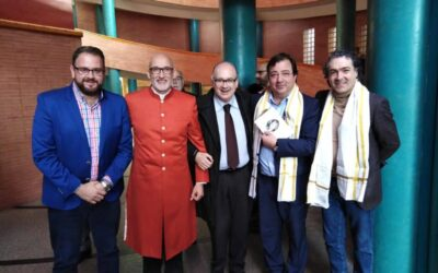 Acto De Presentación de la obra Homo Ethicus en la exposición en Mérida