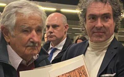 Mujica llega a valencia para recibir el premio Derechos Humanos