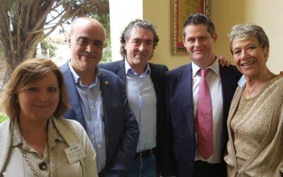 """Encuentro Europeista e interreligioso en el """"Cementerio Británico"""" de Valencia y entrega de una placa simbólica"""