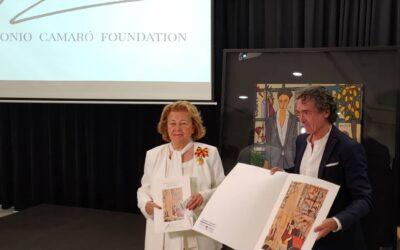 Mayte Spínola miembro de honor de Antonio Camaró Foundation