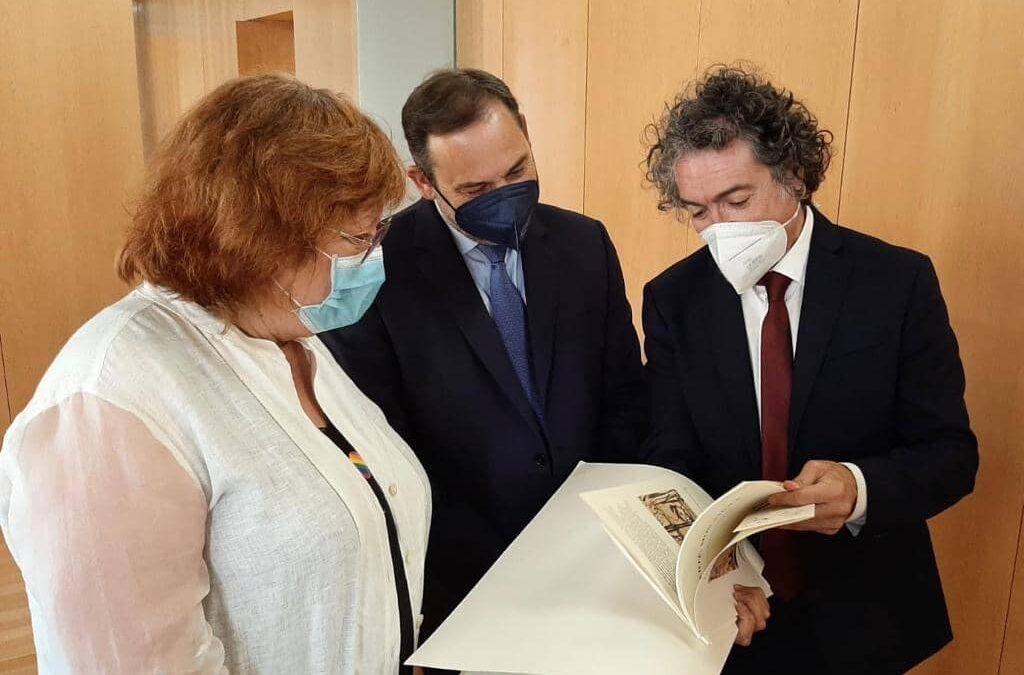 """Camaró y """"Liberté, Mon Amour"""" en la Delegación del Gobierno de la Comunitat Valenciana"""